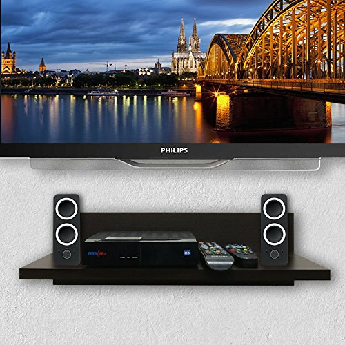 A10 Shop Sigma X50 TV Set Top Box/ DVD Wall Shelf (Wenge)