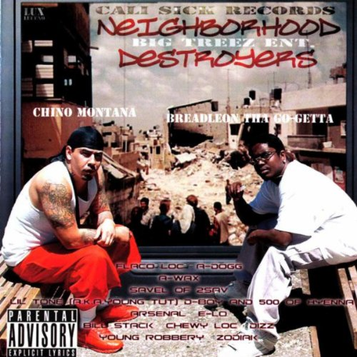 Gangsters (Feat. 500 & BreadLeon Tha Go-Getta) [Explicit]