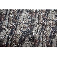 Neoprene Foglio Camouflage. Motivo di foglie. 144 centimetri x 100cm.