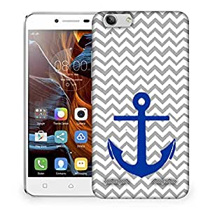 Snoogg Anchor Wave Designer Protective Back Case Cover For Lenovo K5 Vibe