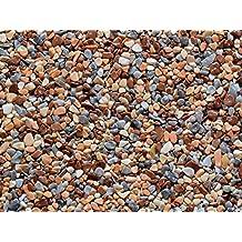 PaviPlan® 1 m² Steinteppich-Boden Marrone MC-02 Marmor 2-4mm PUR-ECO im Mischeimer