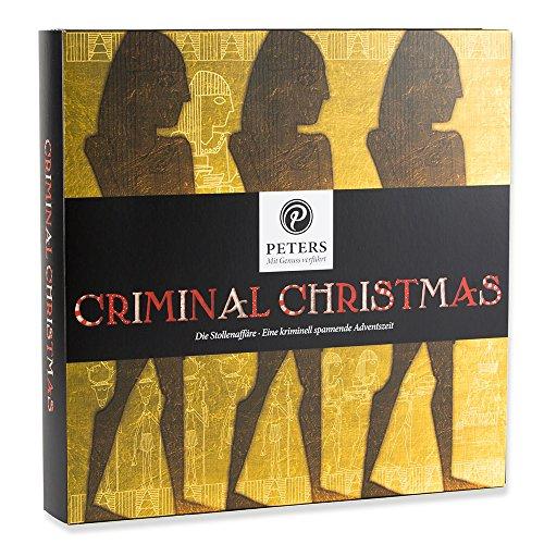 Produktbild bei Amazon - Peters - Adventskalender 'Criminal Christmas III - Die Stollenaffäre' - 255g