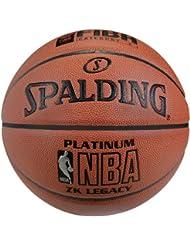 Spalding NBA Platinum Legacy 74-456Z - Balón de baloncesto multicolor incoloro Talla:7
