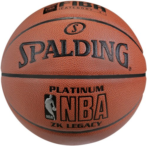 Spalding NBA Platinum Legacy - Balón Baloncesto Logo