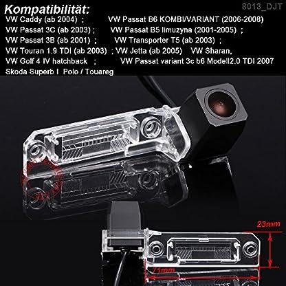Dynavsal-HD-CCD-Rckfahrkamera-Einparkkamera-Einparkhilfe-Nachtsicht-Wasserdicht-fr-VW-Magotan-Polo-Bora-Golf-Jetta-Passat-B5-B6-CC-Touran-Caddy-Multivan-T5-Transporter-Touareg