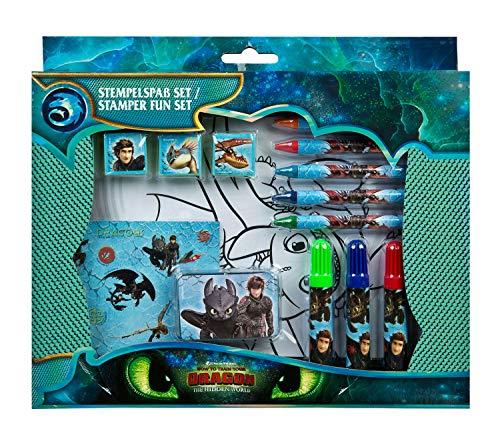 Undercover drra3971Sello Diversión, DreamWorks Dragons, 26Piezas, Multicolor