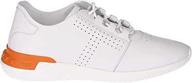 Tod's Luxury Fashion Uomo XXM91B0Y1807WRB003 Bianco Pelle Sneakers   Stagione Permanente