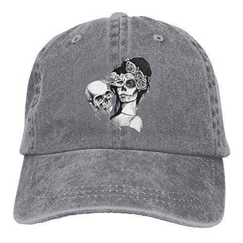 fboylovefor Sugar Skull Baseball Caps Kawaii Top Level Snapbacks for Women