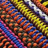 """Universell einsetzbares Survival-Seil aus reißfestem """"Parachute Cord"""" / """"Paracord 550"""" (Kernmantel-Seil aus Nylon), 550lbs, Gesamtlänge 31 Meter (100 ft) Farbe: schwarz -WICHTIG: DIESES PARACORD SEIL IST NICHT ZUM KLETTERN GEEIGNET! Marke Ganzoo - 5"""