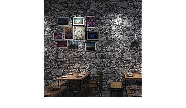 Reyqing Wallpapers, Bars, Cafés, Kleidung Geschäften, Wallpapers, 3D,  Ziegel, Fliesen, Wallpapers, Marmorierte Grau, Tapete Nur: Amazon.de:  Baumarkt