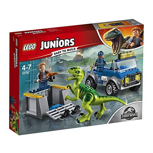 Lego Juniors - Le camion de secours des raptors - 10757 - Jeu de Construction