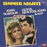 "Summer Nights / Rock 'N' Roll Party Queen - John Travolta, Olivia Newton-John & Grease Cast / Louis St. Louis 7"" 45 -"