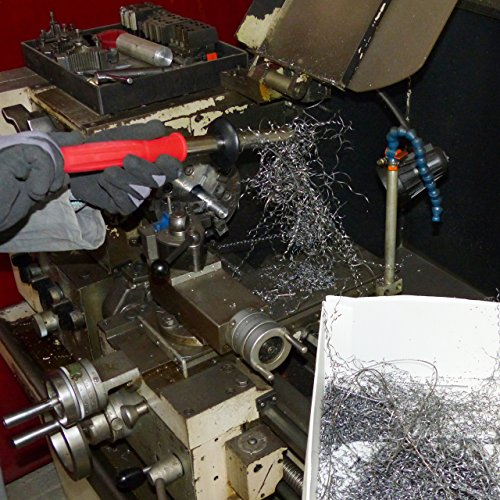 Magnetwerkzeug / Werkstattmagnet / Spanmagnet zur schnellen und sicheren Entfernung von Eisenteilen wie Drehspäne, Frässpäne, Sägespäne etc. aus Eisen und Stahl - 6