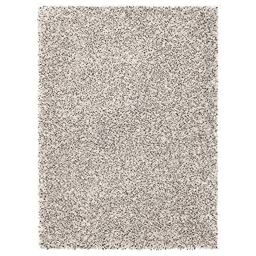 MBI Teppich Hochflor weiß Größe fertig montiert 270 cm Breite 200 cm Dicke 30 mm