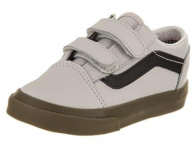 2446ac8d8e Vans Toddlers Old Skool V (Bleacher) Skate Shoe  Amazon.co.uk  Shoes ...