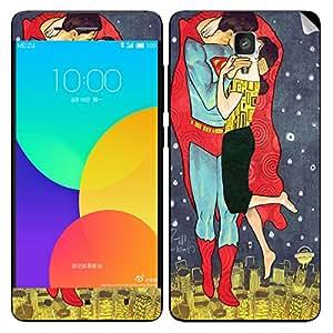 Theskinmantra Supermen Kisses Xiaomi Mi4 mobile skin