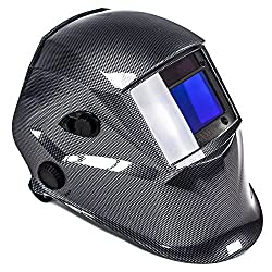awm® WH02C Automatik Schweißhelm Schweißschirm Carbon Schweißmaske Solar Schweißbrille