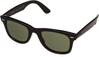 Ray-Ban RB4340 601 Non-Polarized Sunglasses, Black/Green Classic, 50mm