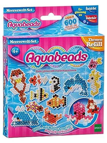 Aquabeads 79338 - Meereswelt-Set, Kinder Bastelset