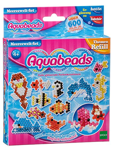 Aquabeads 79338 Merereswelt-Set, Kinder Bastelset