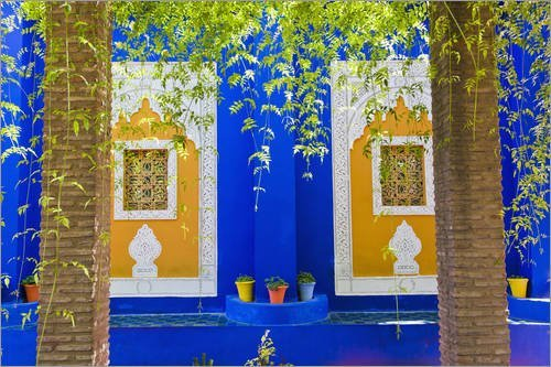 poster-60-x-40-cm-windows-in-the-majorelle-gardens-by-matthew-williams-ellis-robert-harding-high-qua