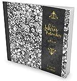 GOCKLER® 3 Jahres Kalender: 190+ Seiten Journal für 3 Jahre || Glänzendes Softcover || Ideal als Tagebuch, Notizkalender, Aufgabenplaner oder Erfolgsjournal || DesignArt.: Bleistift Blumen