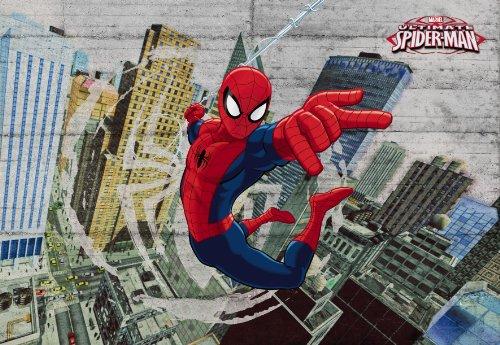 spider-man-concrete-disney-carta-da-parati-fotografica-wall-paper-mural-368-x-254-cm-8-pezzi-una-con