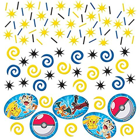 Pokemon Confetti Bags 1.2 oz ~ Birthday Party Supplies Decorations by Designware