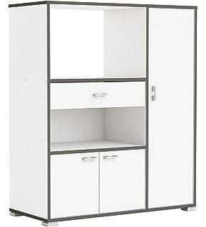Habeig Küchenschrank 955 Schrank Küchenregal Küchenmöbel Mikrowelle  Singleküche Küche
