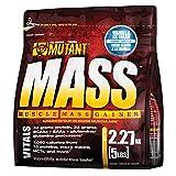 Mutant Mass Complément pour Sportif Vanille 2,2 kg