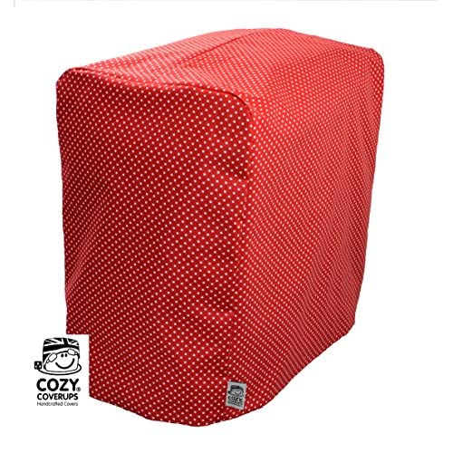 61p%2B9X86MvL. SS500  - Cozycoverup® Dust Cover for Panasonic Breadmaker 2500/2501/2502 in Red Spot