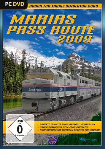 Trainz 2009 - Marias Pass Route 2009 [Edizione : Germania]