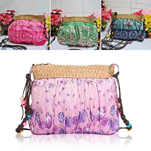 xipinco7285 , Damen Umhängetasche, violett (violett) - 522734-5508-1121471 grün