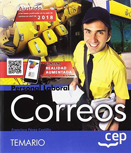 Personal Laboral. Correos. Temario por Francisco Pérez Castillo