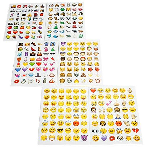 Rhode Island Novelty Emoticon Aufkleber (288Stück Emoji-Sticker)