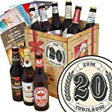 Zum 20. Jubiläum   Geschenkbox - Bier   Ostdeutsche Biere