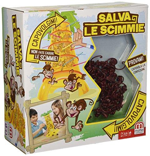 Mattel Games Monos locos, juego de mesa infantil (Mattel...
