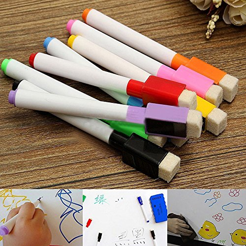 Tiptiper 8PCS colorea rotuladores pizarra pizarra