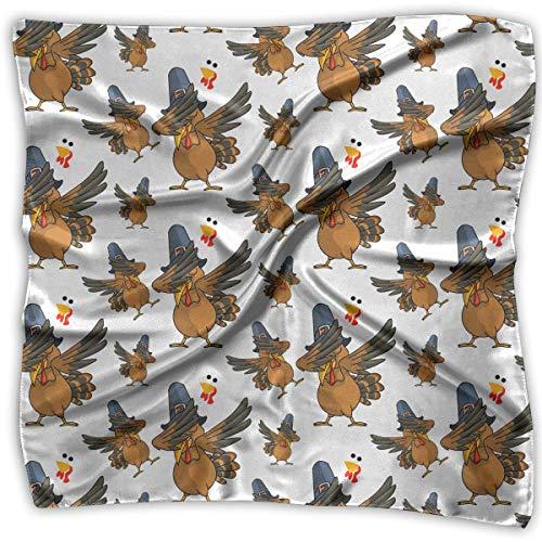 fs Scarf Thanksgiving Dabbing Turkey Novelty Shawl Bandanas Multi-Function Party Gifts ()