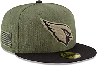New Era Arizona Cardinals On Field 18 Salute to Service Cap 59fifty 5950 Fitted Limited Edition