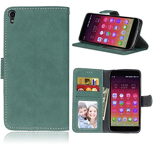 BONROY Case, Alcatel Onetouch Idol 3 (5,5 Zoll) Flip Leather Case, Shockproof Bumper Cover and Premium Wallet Case for Alcatel Onetouch Idol 3 (5,5 Zoll)