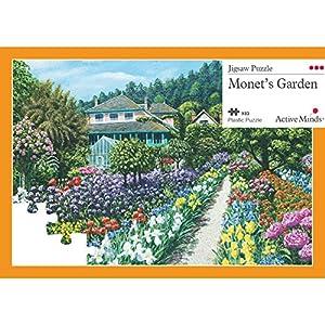 Il Giardino di Monet Puzzle da 63 Pezzi: Attività per Anziani Specifiche per le Persone Affette da Demenza/Alzheimer di Active Minds