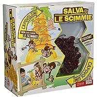 Mattel Games - Monos locos, juegos de estrategia (Mattel 52563)