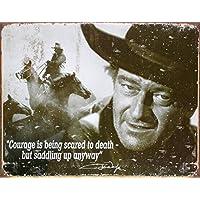 Poster di latta Tin Sign John Wayne
