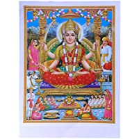BILD LAKSHMI /& GANESHA Hinduismus Prägedruck INDIEN Vorlage Tattoo 49