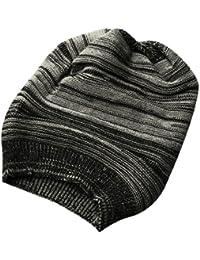 Sourcingmap Men Textured Design Winter Wearing Knit Cap Beanie Hat