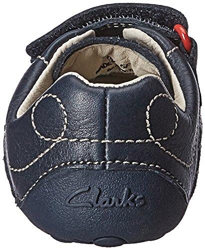 Clarks  Tiny Jet, {Chaussures premiers pas pour bébé (garçon) Bleu - Blau (Navy Leather)
