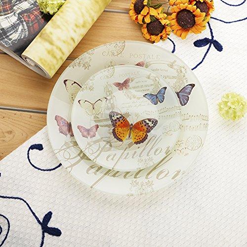 Moda creativa vetro salad plate/ frutta secca/ candy/Fruttiera-A