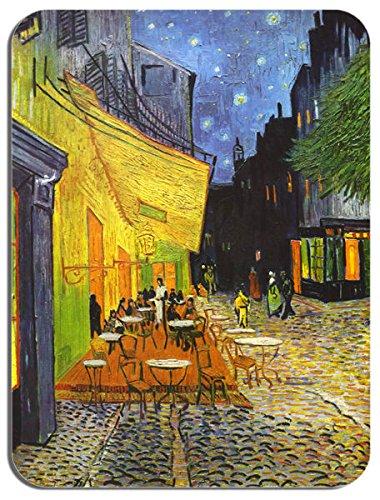 Preisvergleich Produktbild Vincent Van Gogh Cafe bei Nacht Mauspad. Kunstdruck Mauspad