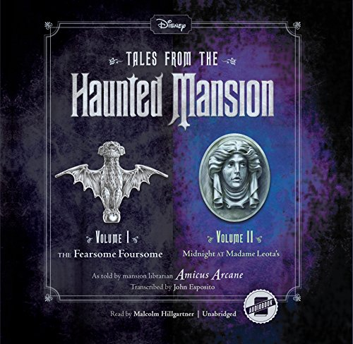 Tales from the Haunted Mansion: The Fearsome Foursome and Midnight at Madame Leota's: 1-2 (Tales from Haunted Mansion)